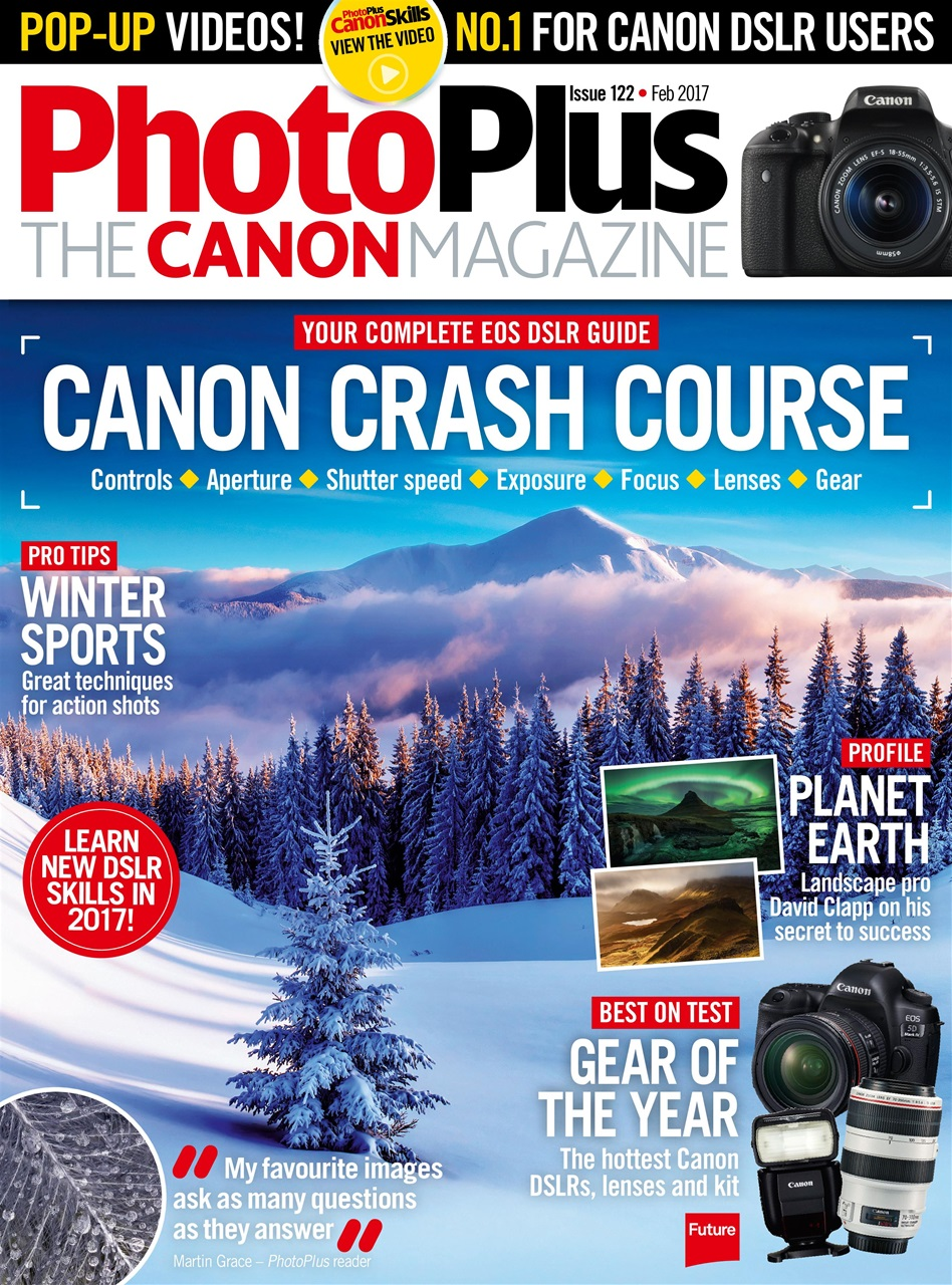 Cached Photography magazines for canon users