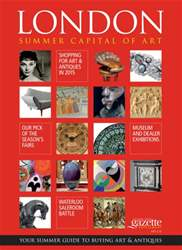 London Summer Capital of Art issue London Summer Capital of Art