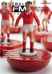 Football Masters Magazine Cover