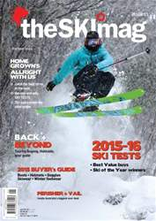 SkiMag Magazine Cover
