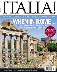 October 2011 When in Rome... issue October 2011 When in Rome...