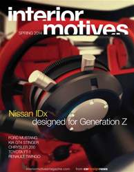 Interior Motives Spring 2014 issue Interior Motives Spring 2014
