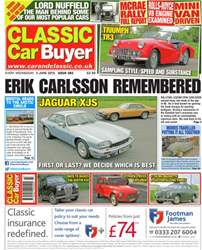 No.281 Eric Carlsson Remembered issue No.281 Eric Carlsson Remembered