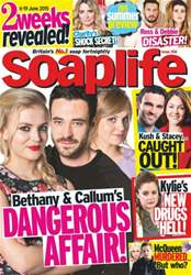 Soaplife Magazine Cover