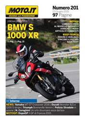 Moto.it Magazine n. 201 issue Moto.it Magazine n. 201