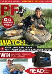 Pole Fishing Plus Magazine Cover