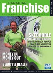 Canadian Franchising Magazine Cover
