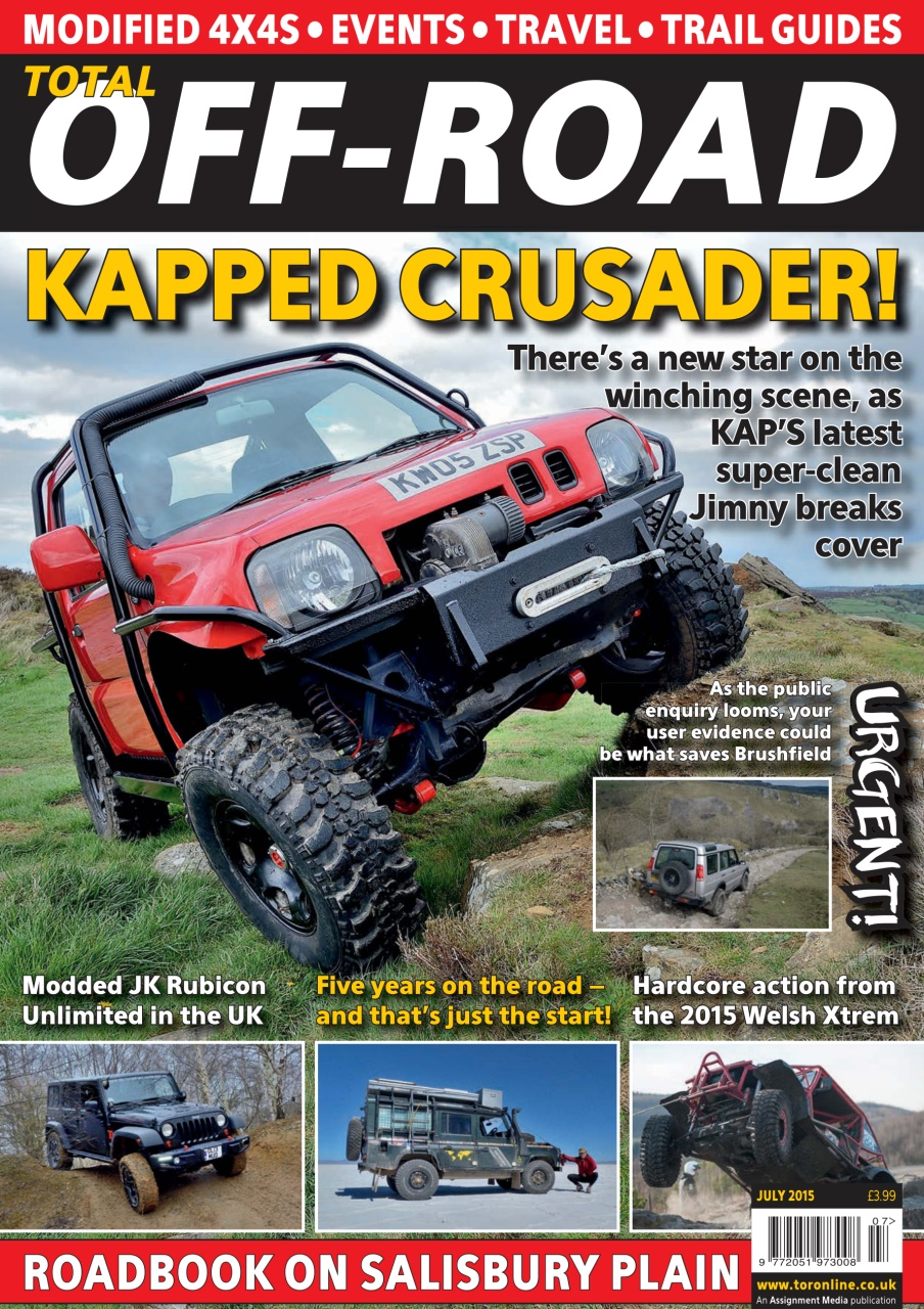 4x4 magazine incorporating total off road july 2015 subscriptions pocketmags. Black Bedroom Furniture Sets. Home Design Ideas