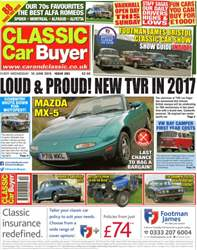 No.282 Loud & Proud! New TVR in 2017! issue No.282 Loud & Proud! New TVR in 2017!