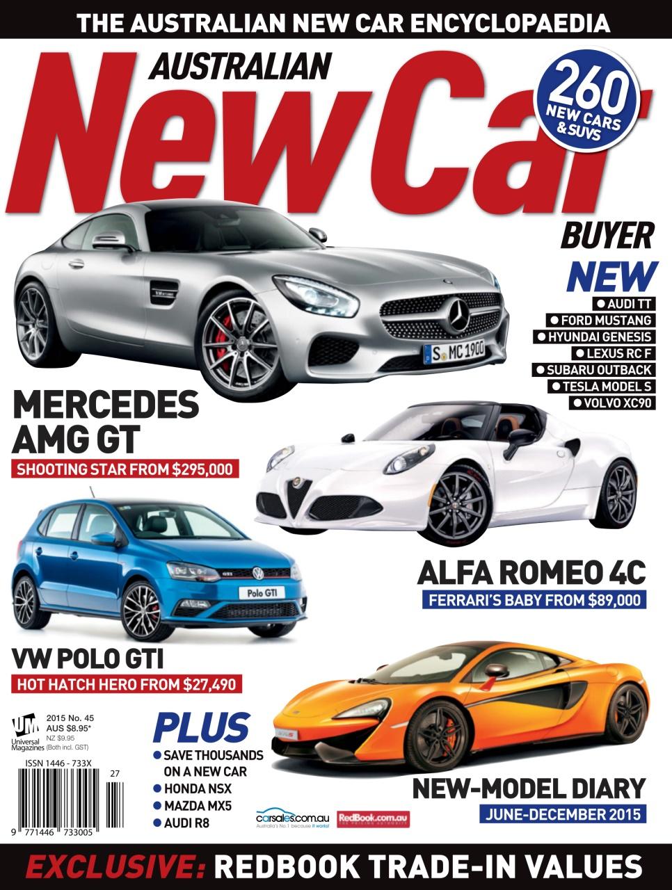 australian new car buyer magazine - issue#45 2015 subscriptions