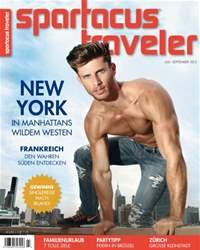 Spartacus Traveler Magazine Cover