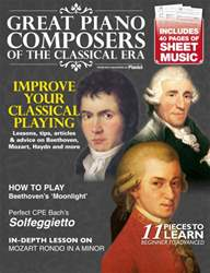 Great Piano Composers of the Classical Era issue Great Piano Composers of the Classical Era
