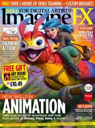 ImagineFX Magazine Cover