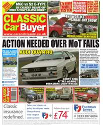 No. 283 Action Needed Over MOT Fails issue No. 283 Action Needed Over MOT Fails