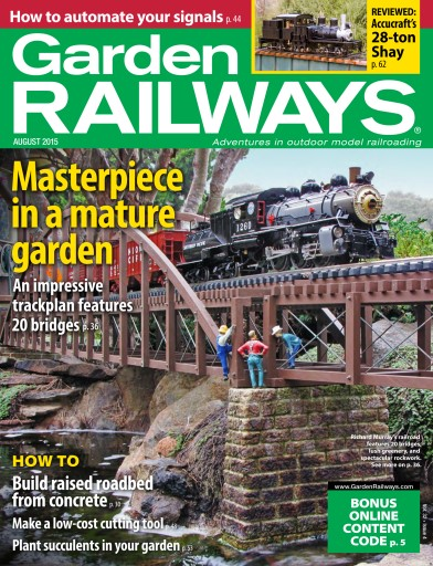 Garden Railways Preview