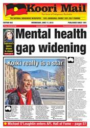 Koori Mail Magazine Cover