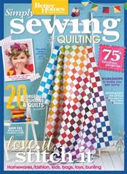 Simply Sewing and Quilting issue Simply Sewing and Quilting