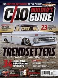 C 10 Builder Guide Summer 2015 issue C 10 Builder Guide Summer 2015