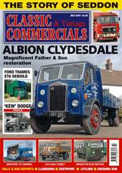 Classic & Vintage Commercials Magazine Cover