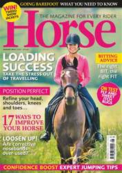 Horse Magazine Cover