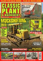 Vol.13 No.11 Muckshifting 2015 issue Vol.13 No.11 Muckshifting 2015