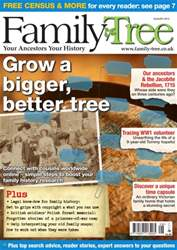 Family Tree August 2015 issue Family Tree August 2015