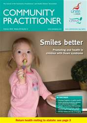 Community Practitioner February 2010 issue Community Practitioner February 2010