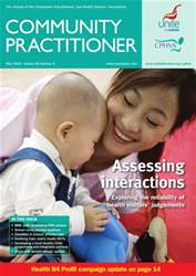 Community Practitioner May 2010 issue Community Practitioner May 2010