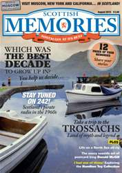 Scottish Memories Magazine Cover