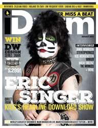 iDrum magazine: Never miss a beat Magazine Cover