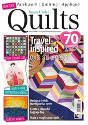 Down Under Quilts Magazine Cover