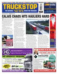 No. 347 Calais chaos hits hauliers hard. issue No. 347 Calais chaos hits hauliers hard.