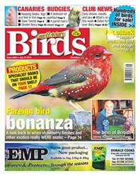 No. 5863 Foreign bird bonanza issue No. 5863 Foreign bird bonanza