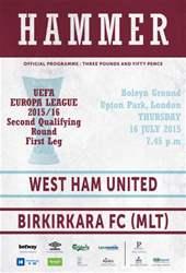 BIRKIRKARA FC  issue BIRKIRKARA FC