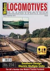 Modern Locomotives Illustrated Magazine Cover