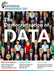 The Democratisation of Data issue The Democratisation of Data