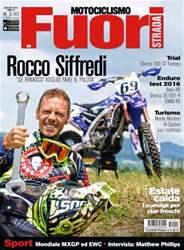 Motociclismo Fuoristrada 08-09 2015 issue Motociclismo Fuoristrada 08-09 2015
