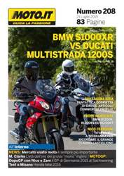 Moto.it Magazine n. 208 issue Moto.it Magazine n. 208