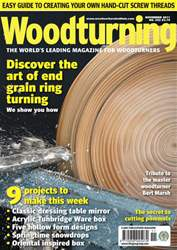 Woodturning Issue November 2011 issue Woodturning Issue November 2011
