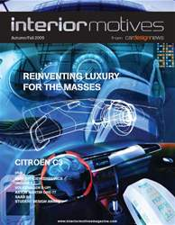 Interior Motives Autumn 2009 issue Interior Motives Autumn 2009