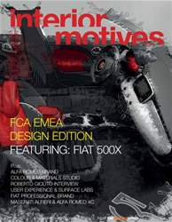 Interior Motives Fiat Supplement issue Interior Motives Fiat Supplement