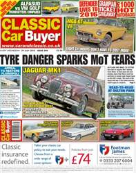 No. 289 Tyre danger sparks MoT fears issue No. 289 Tyre danger sparks MoT fears