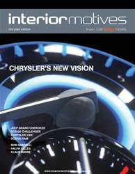 Interior Motives Chrysler Supplement issue Interior Motives Chrysler Supplement