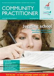 Community Practitioner January 2009 issue Community Practitioner January 2009
