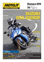 Moto.it Magazine n. 209 issue Moto.it Magazine n. 209