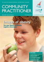 Community Practitioner Magazine Cover