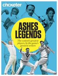 Ashes Legends Supplement issue Ashes Legends Supplement