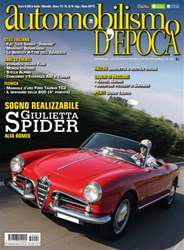 Automobilismo d'Epoca 8-9 2015 issue Automobilismo d'Epoca 8-9 2015