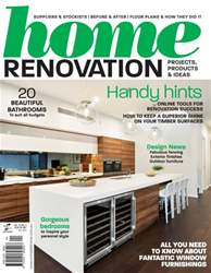 Home Renovation Magazine Cover