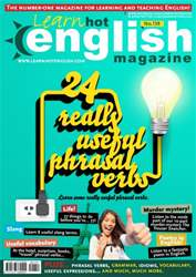 Learn Hot English 159 August issue Learn Hot English 159 August